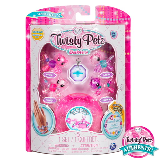 Twisty Petz Twin Baby Four Pack - Kitties and Ponies