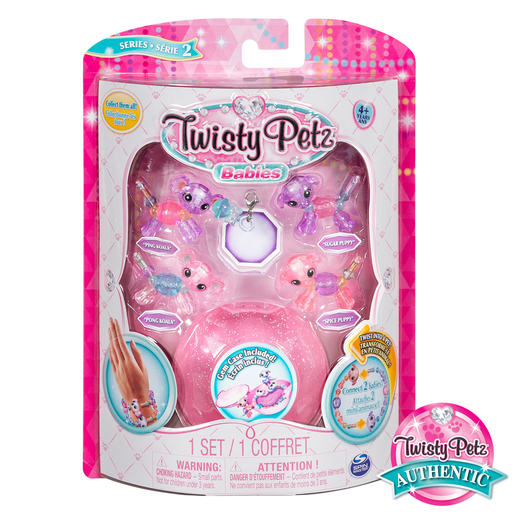 Twisty Petz Twin Baby Four Pack - Koala and Puppies