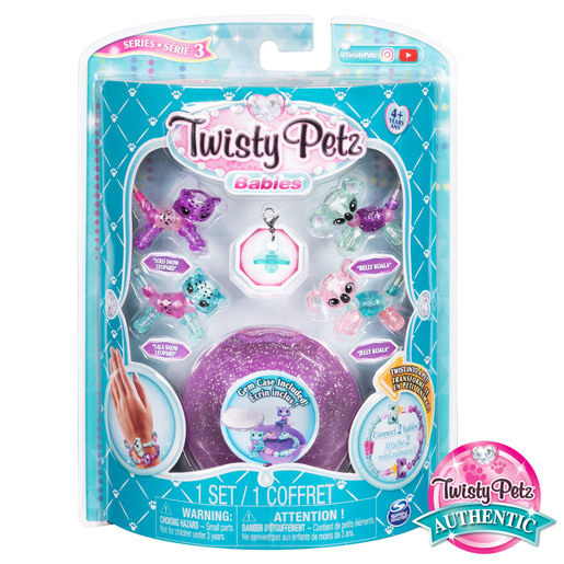 Twisty Petz Babies 4 Pack - Snow Leopards and Koalas