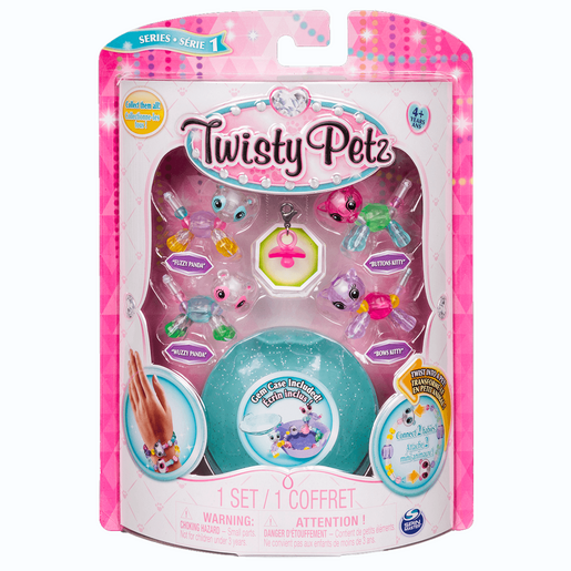 Twisty Petz Twin Baby Four Pack - Pandas and Kitties