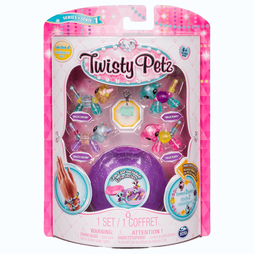 Twisty Petz Twin Baby Four Pack - Puppies and Unicorns