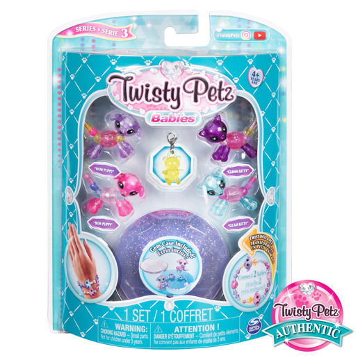 Twisty Petz Babies 4 Pack - Puppies and Kitties