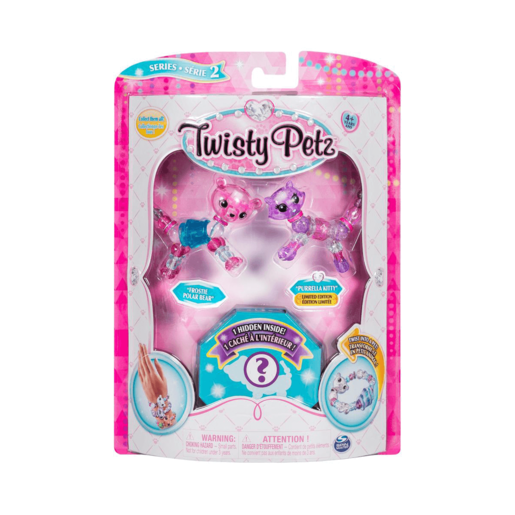 Twisty Petz Three Pack Series 2 - Bear, Kitty and Surprise
