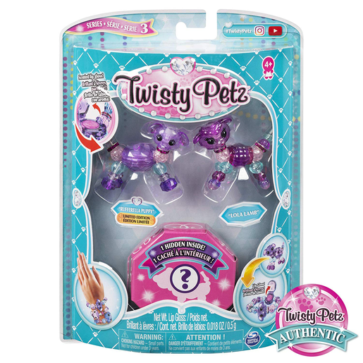Twisty Petz Three Pack Series 3 - Rufferella Puppy and Lola Lamb