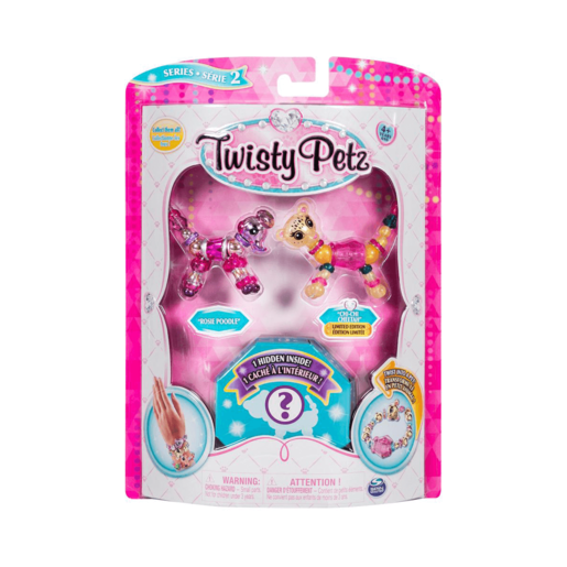 Twisty Petz Three Pack Series 2 - Poodle, Cheetan and Surprise