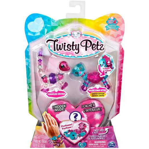 Twisty Petz Babies 3 Pack - Gecko and Otter