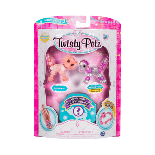 Twisty Petz Three Pack Series 2 - Tiger, Puppy and Surprise