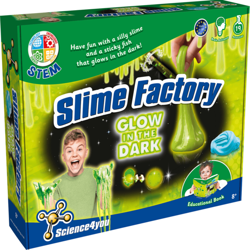 Science 4 you - Glow in the Dark Slime Factory