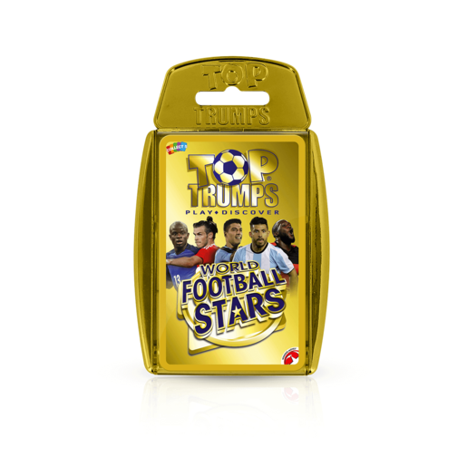 Top Trumps - World Football Stars Gold Case Card Game