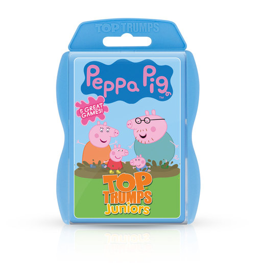 Peppa Pig Juniors Top Trumps Card Game