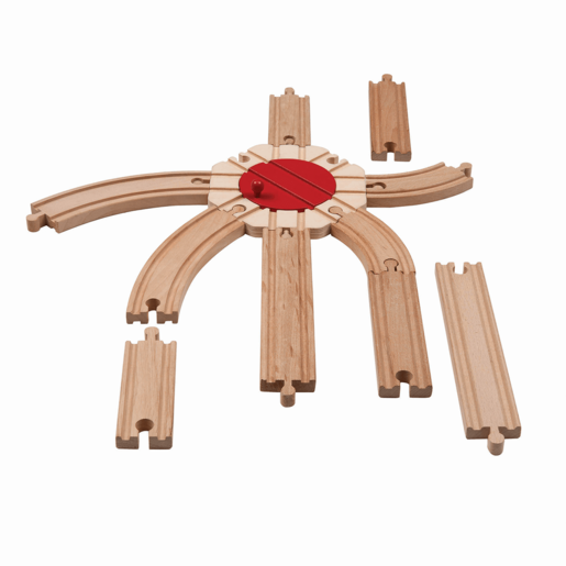 Wooden Track Pack (11pcs)