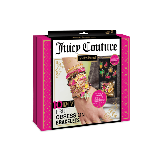 Juicy Couture Beaded Charm Bracelets - Fruits