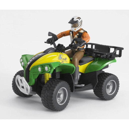 Bruder Quad Bike with Driver