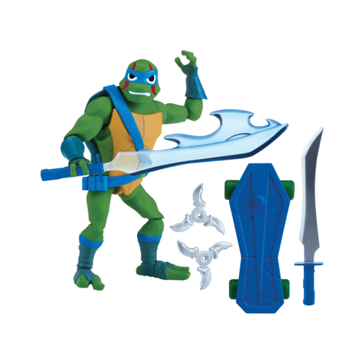 Rise of The Teenage Mutant Ninja Turtles Action Figure - Leo 'The Cool Guy'