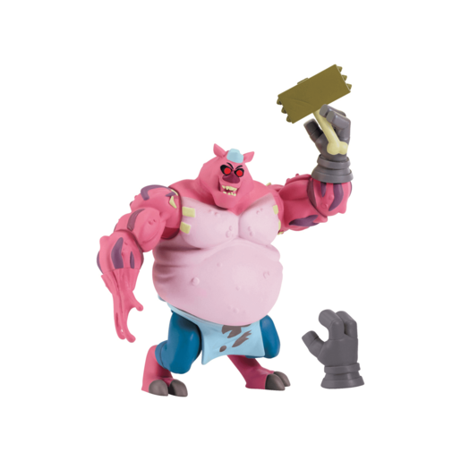 Rise of The Teenage Mutant Ninja Turtles Action Figure - Meat Sweats 'The Tenderizer'