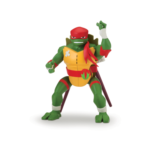 Rise of The Teenage Mutant Ninja Turtles Deluxe Ninja Attack Action Figure - Raphael Cartwheel Attack