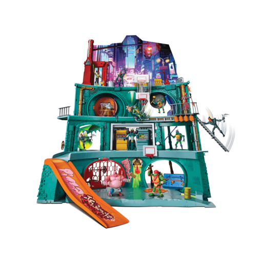 Rise of The Teenage Mutant Ninja Turtles - Epic Sewer Lair Deluxe Playset