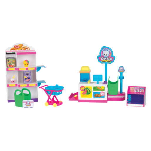 Shopkins Mini Packs Pick 'n' Pack Small Mart Playset