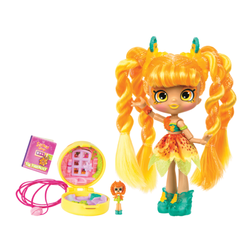 Shopkins Lil's Secrets Series 2 - Tia Tigerlilly Doll