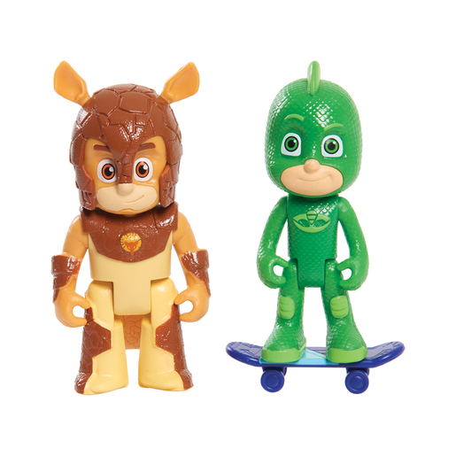 PJ Masks 2 Pack Figure Set - Gekko and Armadylan