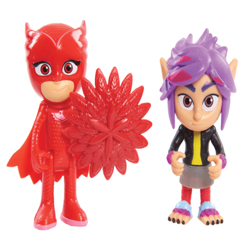 PJ Masks 2 Figure Pack - Ownlette and Rip