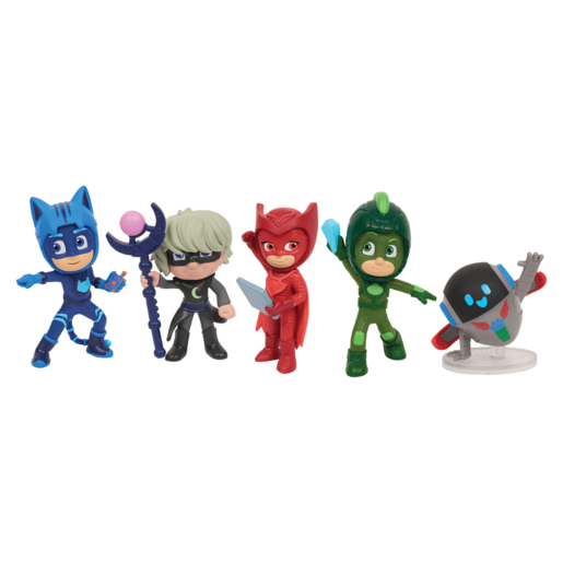 PJ Masks Collectible Figures Set - Super Moon 5 Pack