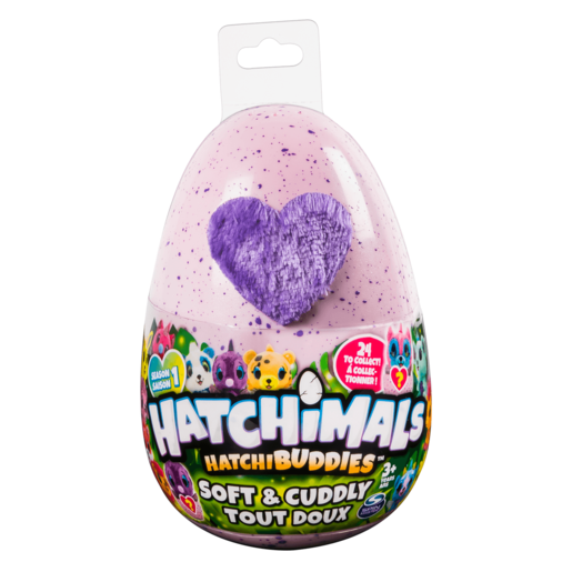 Hatchimals Hatchbuddies Soft and Cuddly Surprise Plush