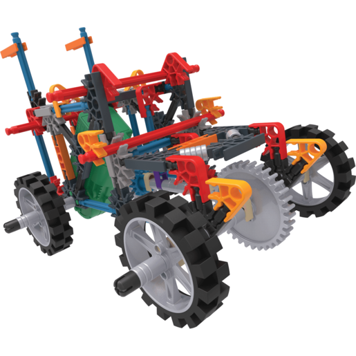 K'NEX 4WD Demolition Truck Building Set