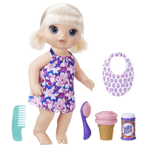 Baby Alive Magical Scoops Baby - Blonde Hair Doll