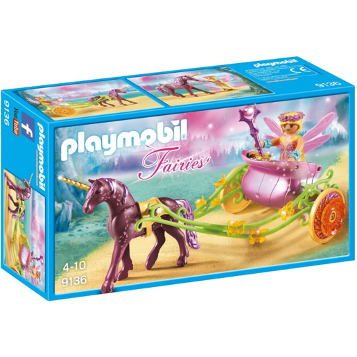 Playmobil 9136 Unicorn-Drawn Fairy Carriage
