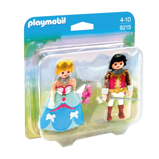 Playmobil 9215 Prince And Princess Duo Pack Figures
