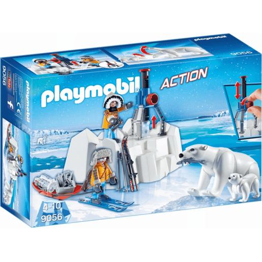 Playmobil 9056 Arctic Explorers With Polar Bears