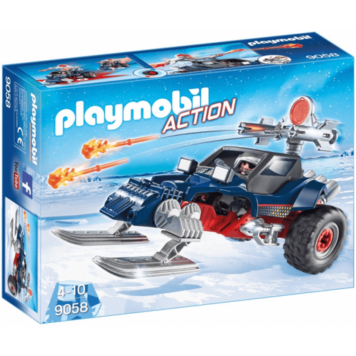 Playmobil 9058 Ice Pirate With Snowmobile