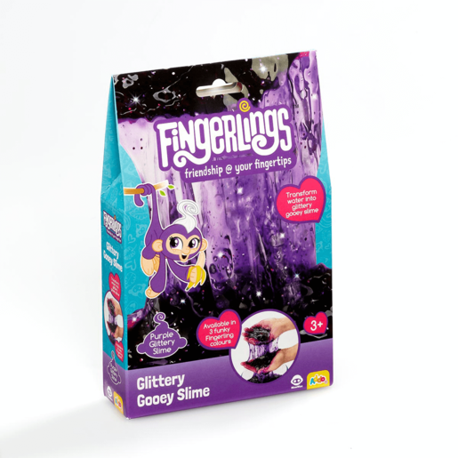 Fingerlings Glittery Gooey Slime - Purple