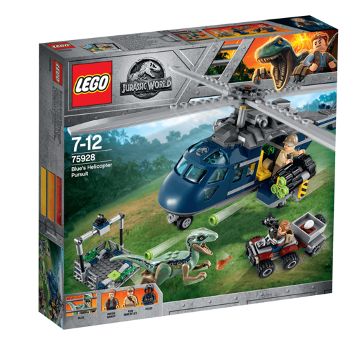 LEGO Jurassic World Blues Helicopter Pursuit - 75928