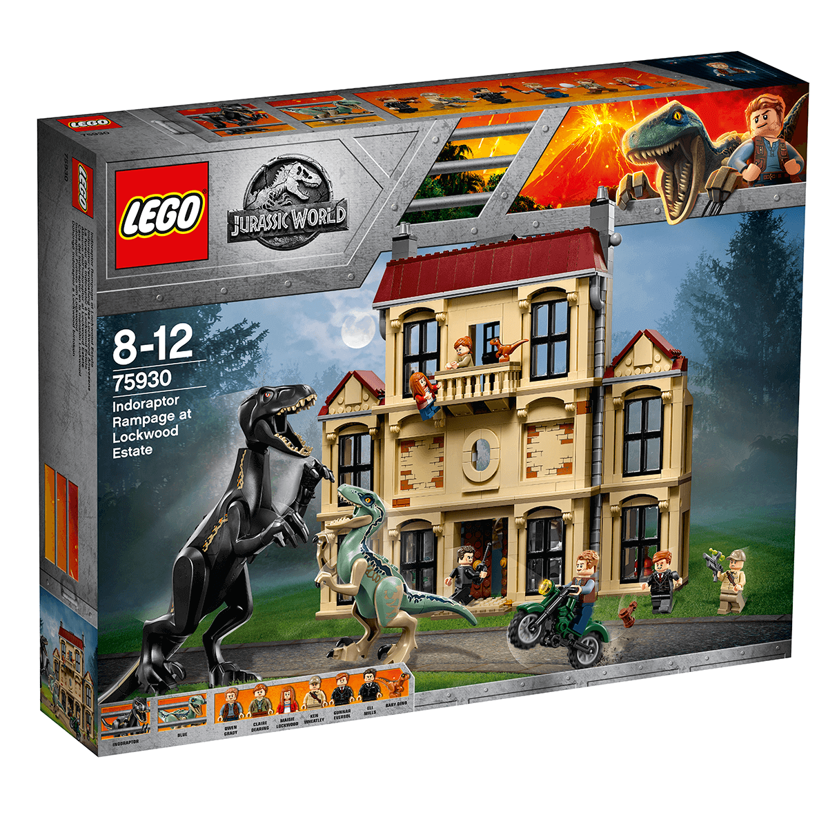 5+ NEW! LEGO 75930 Jurassic World Claire Dearing Minifigure