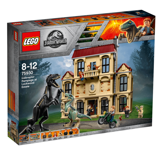 LEGO Jurassic World Indoraptor Rampage at Lockwood Estate - 75930