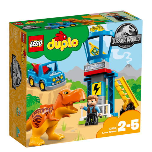 LEGO Duplo Jurassic World T. rex Tower - 10880