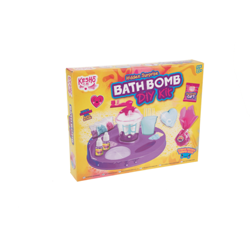 Kesho Hidden Surprise Bath Bomb Create Your Own Kit