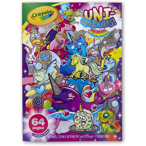 Crayola Uni-Creatures Colouring Book