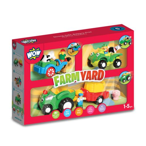 WOW Toys Farm Yard Playset from TheToyShop