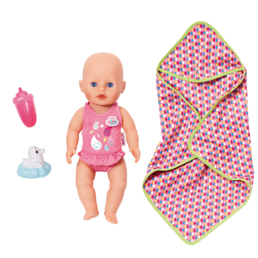 My Little BABY Born Bathing Fun Doll with Accessories