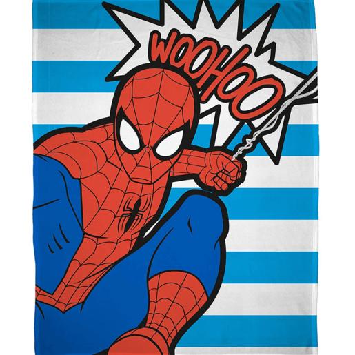 Marvel Ultimate Spider-Man Fleece Blanket