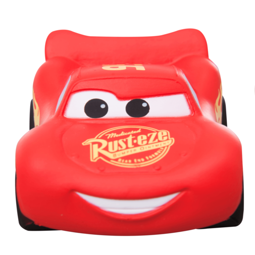 Disney Pixar Cars Squish and Squeeze Squishy Palz - Lightning McQueen