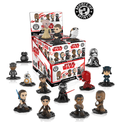 Funko Mystery Minis - Star Wars Last Jedi (One figure supplied)
