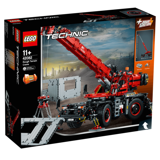 LEGO Technic Rough Terrain Crane - 42082