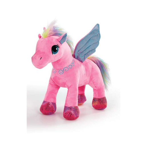 Snuggle Buddies Pegasus Sparkle Wings - Pink