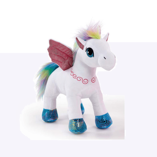 Snuggle Buddies Pegasus Sparkle Wings - White