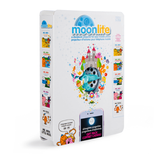 Moonlite - Mr. Men Gift Pack with 5 Stories