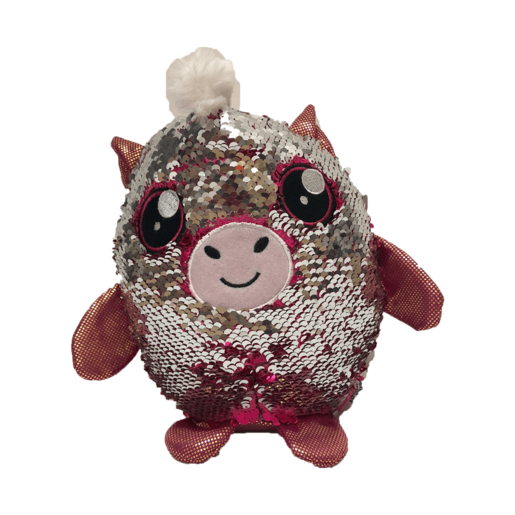 Sequin Surprise Soft Toy - Horse